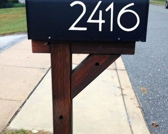 Mailbox Address Number Stickers - (Cost is for Up to 4 Numbers) - Bedroom/Home Decor/Car/Truck/Computer/Phone/Laptop Decal