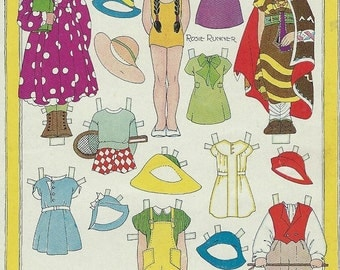 childrens playmate magazine 1940s paper dolls download