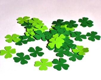 Shamrock Confetti - Clover Confetti - St. Patrick's Day Confetti - Green Confetti - Clover - Shamrock - Table Confetti - Confetti - Green