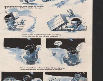 """Original Good Housekeeping cartoon """"Yoomee"""" by James Swinnerton 1930s, 8x11 in. - Kids230"""