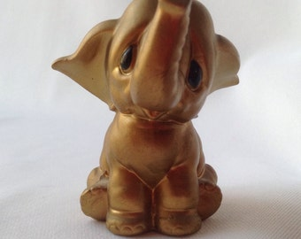 Norcrest Gold Elephant
