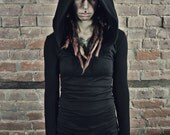 Longsleeve Doomlord Hooded Top, Women's