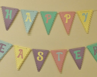 Happy Easter Pennant Garland