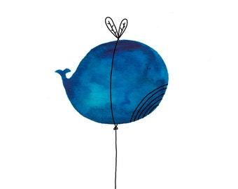 Postcard: Fairy Whale!
