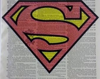 Superman Dictionary Art