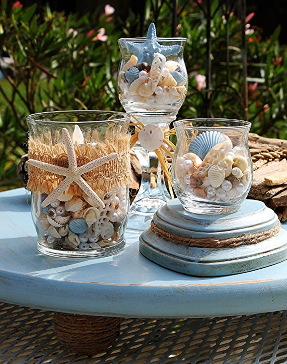 beach wedding centerpiece beach wedding decor nautical