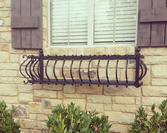 Iron Window Box