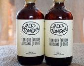 2 Bottles - Artisanal Tonic Syrup - Cocktail Mixer