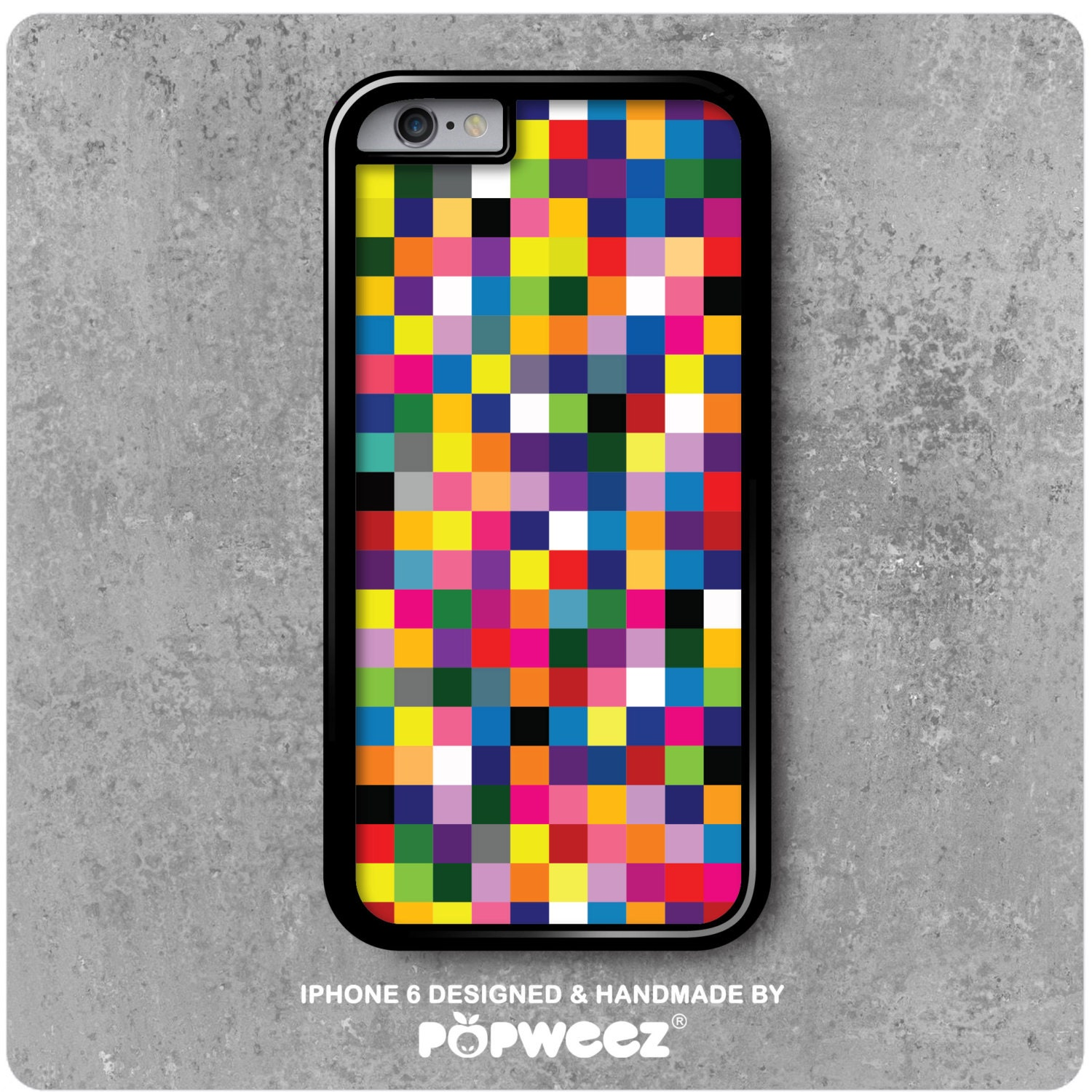 iphone 6 pixel coque iphone 6 6s pixels multicolores 11379