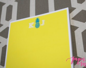 Custom Notepad - Personalized Pineapple Notepad