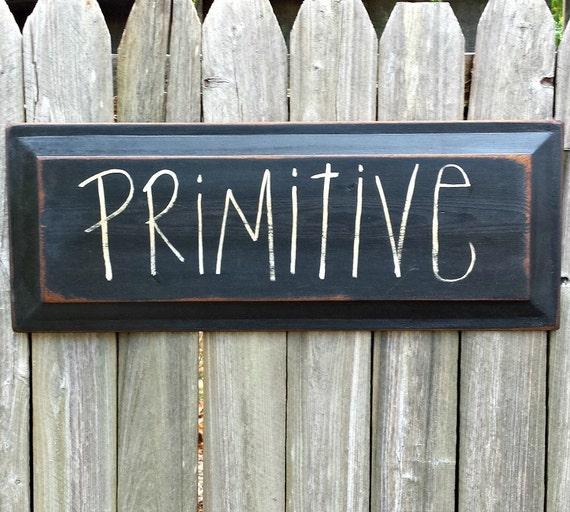 Primitive door panel style wood sign rustic farmhouse