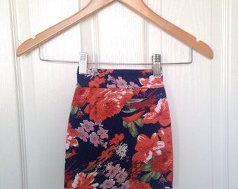 Baby-Toddler floral Knit Pencil Skirt