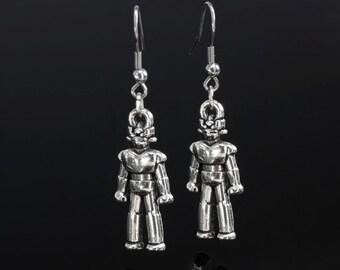 Doctor Who Cybermen Earrings #R-161