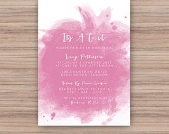 Baby Shower Invitation - Printable Baby Shower - Printable Invitation - Baby - 105