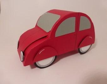 VW Bug Gift Card Holder - Red