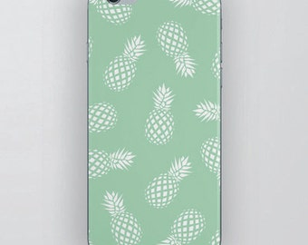 PINEAPPLES phone case • iPhone 7 case, iPhone 6 case, iPhone 6S case, iPhone 5S case, iPhone SE case, Huawei P9 Lite case, funda movil