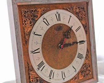 Walt wall clock vintage style