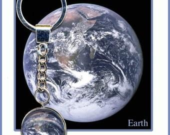 Planet Earth Keyring