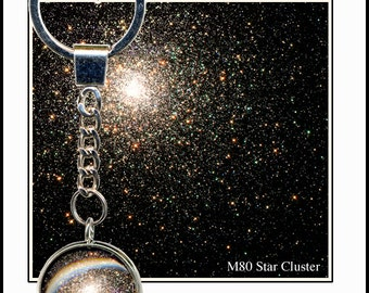 Star Cluster Keychain with photocard