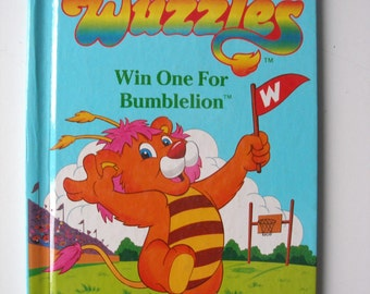 Vintage Wuzzles: Win One For Bumblelion 1984