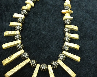 Beautiful Picture Jasper Statement Necklace!