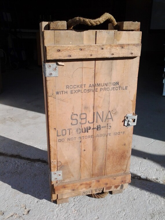 On Reserve For Carly Jennings Us Military Ammo Crate