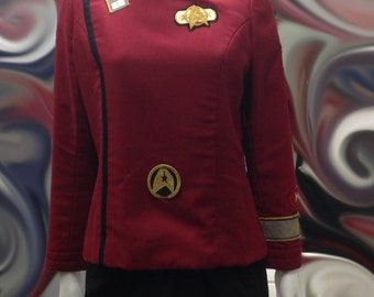Star Trek Uniform, Great for Cosplay, Character Acting, Formal Uniform, Very Unique,