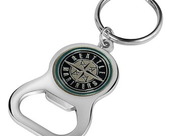 Seattle Mariners Keychain Bottle Opener