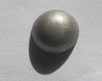 Antique diminutive Navajo silver dome button