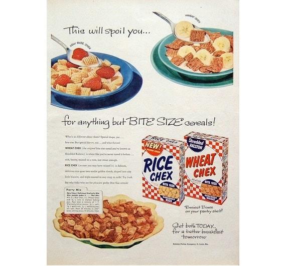 Items Similar To Ralston Purina Wheat & Rice Chex