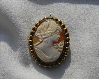Van Dell Cameo Pin/Pendant