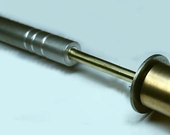 spring brass lampworking, lampworking tool