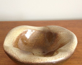 Mid Century Ceramic Bowl by Arno Sheiding