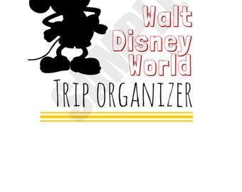 The Ultimate Walt Disney World Trip Planner Printable--Instant Download!
