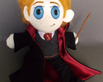 READY TO SHIP Ron Weasley Plush Doll Plushie Toy