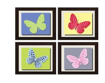 Butterfly Decor, Butterfly Nursery Decor, 3D Butterfly Wall Art, Butterfly Nursery Wall Art, Baby Girl Nursery Decor, Girl Bedroom Decor