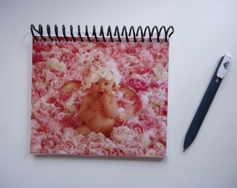 Anne Geddes Upcycled Notebook