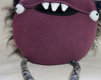 Scary plush monster halloween horror doll