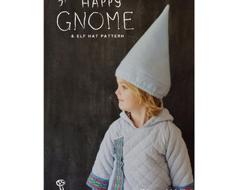 The Happy Gnome & Elf Hat Pattern PDF