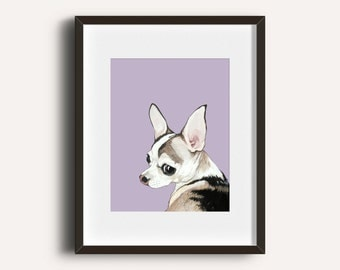 Custom Portrait - Hand Painted 8x10 inch Pet Portrait using your Photo as a reference - Personalized Painting  and Custom Gift Idea