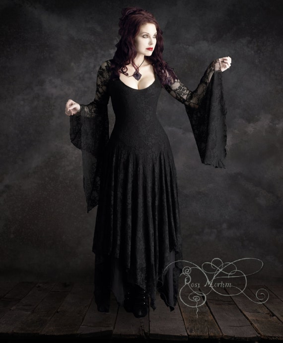 Annaleah Romantic Gothic Wedding Dress
