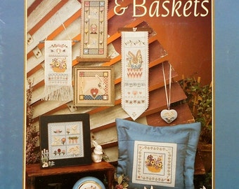 CLEARANCE Jill Siegler TREASURED BUNNIES and Baskets By Mill Hill Beads (Multiple Designs) - Counted Cross Stitch & Beadwork Pattern Chart