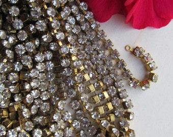 Vintage Classic  Crystal Rhinestone  Chain