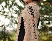 Sand Castle Stole Crochet...