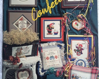 CCS - Clowns and Sayings, Confetti Cross Stitch  by Stoney Creek Collection Book 26