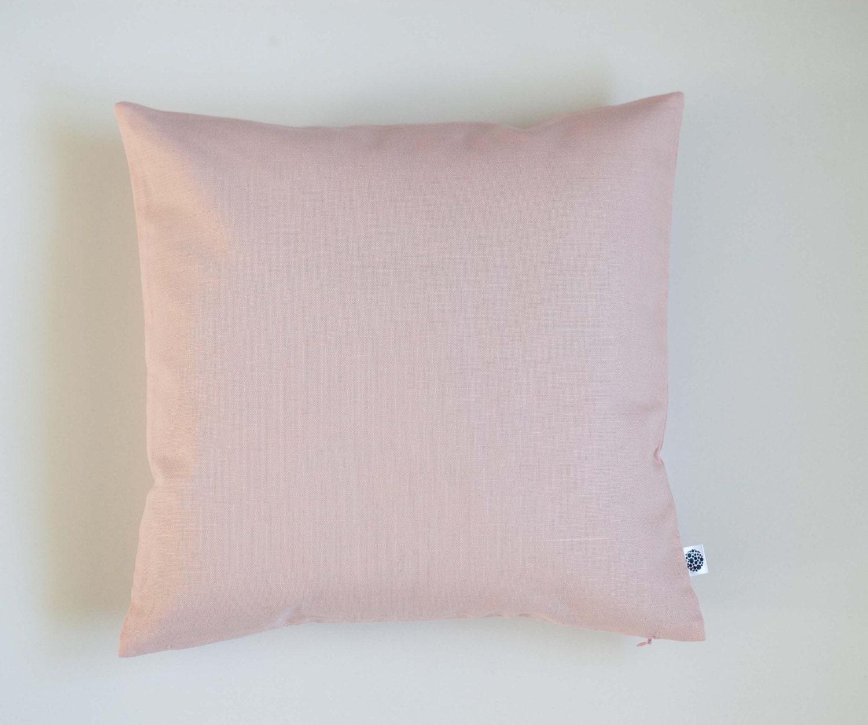 Blush Pink Decorative Pillows : Blush pink throw pillow blush decorative pillow cover pink