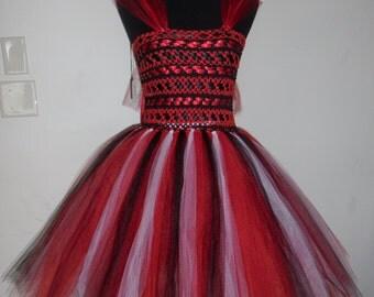 Custom Adult Basic Ribbon Embellished TuTu dress