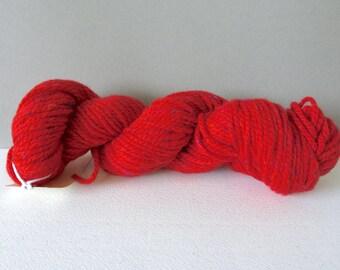 Rowan Fox Tweed (Chunky) wool Yarn in red tweed