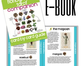 e-Book-Floriography Tarot Companion 2nd edition, card-by-card guide