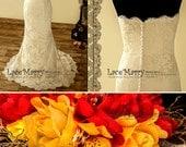 Exclusive Lace Wedding Dress, Slim A Line Wedding Dress, Strapless Gowns, Champagne Wedding Dresses, Beach Wedding Dresses, Bridal Gowns